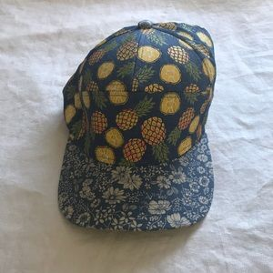Unique pineapple vintage cap